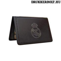 Real Madrid igazolvány tartó (fekete)