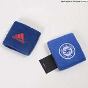 Chelsea csuklószorító - eredeti, hivatalos Adidas klubtermék