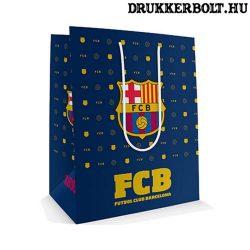 Fc Barcelona díszzacskó / Barca fekete ajándék tasak (nagy)