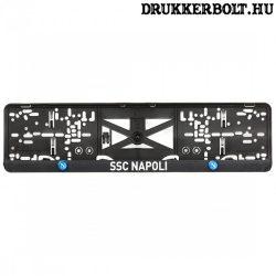 Napoli rendszámtábla tartó (2 db) - SSC Napoli szurkolói termék