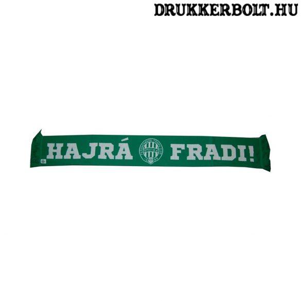 Hajrá Fradi sál - szurkolói Ferencváros sál (hivatalos,hologramos FTC klubtermék)