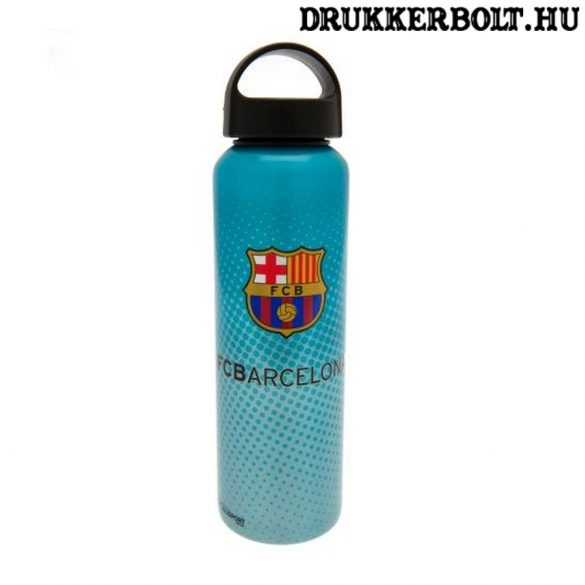 FC Barcelona nagyméretű aluminium kulacs / termosz (hivatalos,hologramos klubtermék)