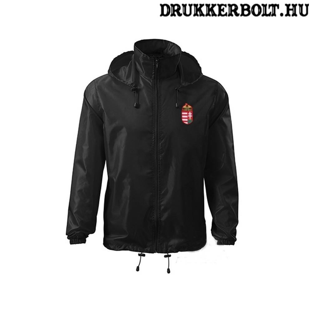 902a541fb7 Hungary feliratos széldzseki / esőkabát - magyar válogatott dzseki (piros  és fekete színben)