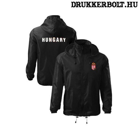 Hungary feliratos széldzseki / esőkabát - magyar válogatott dzseki (piros és fekete színben)