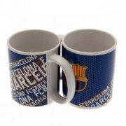 F.C. Barcelona feliratos bögre - hivatalos klubtermék