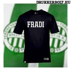 Fradi póló - Ferencváros szurkolói póló FRADI felirattal (fekete)