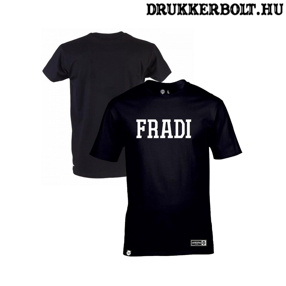 Fradi póló - Ferencváros szurkolói póló FRADI felirattal (fekete ... b9552e99b6