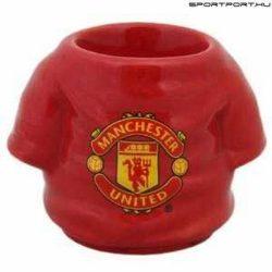 Manchester United Shirt  - kerámia tojástartó / kupicás pohár, felespohár