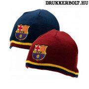 FC Barcelona kifordítható sapka (kötött) - hivatalos, eredeti szurkolói termék!
