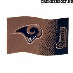 Los Angeles Rams zászló -hivatalos  NFL zászló (eredeti, hologramos klubtermék)