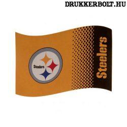 Pittsburgh Steelers zászló - szurkolói zászló (eredeti NFL klubtermék)