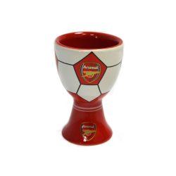 Arsenal kerámia tojástartó / kupicás pohár, felespohár