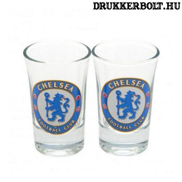 Chelsea Fc felespohár szett - 2 db kupicás pohár Chelsea szurkolóknak