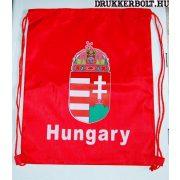 Magyarország tornazsák / zsinórtáska - hivatalos magyar szurkolói termék (piros)