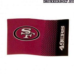 San Francisco 49ers zászló - szurkolói zászló (eredeti NFL klubtermék)