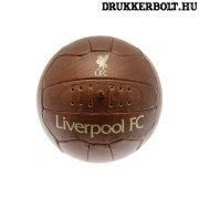Liverpool retro bőrlabda - eredeti gyűjtői termék!