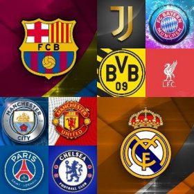 Legnépszerűbb focicsapatok