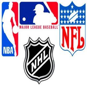 Amerikai Sportok (NFL, NBA,NHL, MLB)